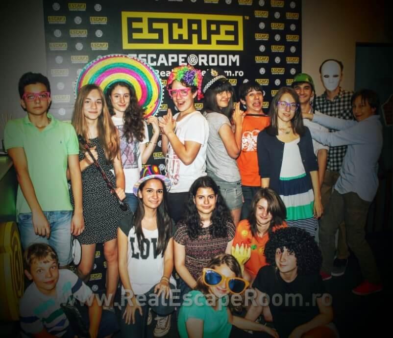 Petrecere copii Escape room